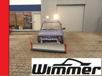 gebraucht Fiat 126 mit Schneepflug Winterfahrzeug