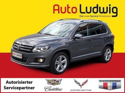 gebraucht VW Tiguan 1,4 TSI Sport Austria DSG *R-LINE *NAVI ... SUV / Geländewagen