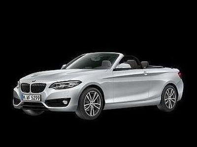 gebraucht BMW 218 i Cabrio Sport Line Aut., Kamera, Navi, LKHZ, -47%