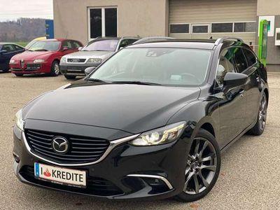 gebraucht Mazda 6 Sport Combi Aut.* Xenon - Head Up - Schaltwippen *