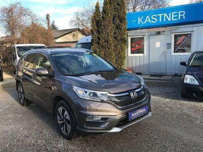 gebraucht Honda CR-V 1,6i-DTEC Lifestyle 4WD Aut. + Navi + Leder + Xenon SUV / Geländewagen,