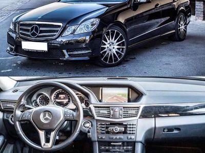 """used Mercedes E300 BlueTEC Hybrid Avantgarde AMG Aut. 2.Besitz 19"""" Carlsson Limousine,"""