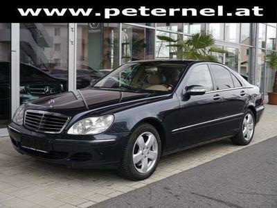 gebraucht Mercedes S500 S-Klasse4MATIC Aut. Limousine,