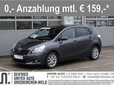 brugt Toyota Verso 2,2 D-CAT 150 Comf*Automatik*Rückfahrk*Si... Kombi / Family Van,