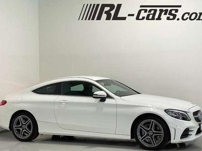 gebraucht Mercedes C220 D Coupe Aut./AMG-Sport/LED/Navi-Widescreen/Leder