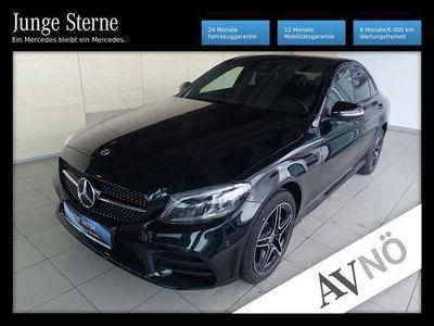 gebraucht Mercedes C220 d 4matic amg nightp. spur-p. 360° allrad led