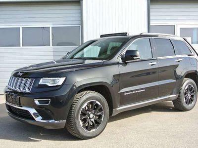 gebraucht Jeep Grand Cherokee 3,0 V6 CRD Summit * GLASDACH * NAVI * LEDER