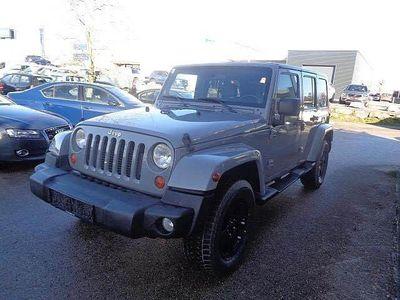 gebraucht Jeep Wrangler Unlimited Sahara 2,8 CRD HT Aut.