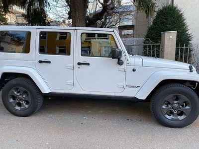 gebraucht Jeep Wrangler Unlimited Sahara 2,8 CRD Aut. SUV / Geländewagen