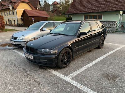 gebraucht BMW 330 3er-Reihe e46 d Kombi / Family Van