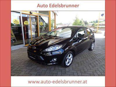 gebraucht Ford Fiesta Trend 1,25**BLUETOOTH*USB*ALU** Limousine
