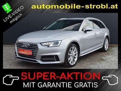 gebraucht Audi A4 Avant 3,0 TDI quattro Sport S-tr. *S-Line*HeadUP*Garantie
