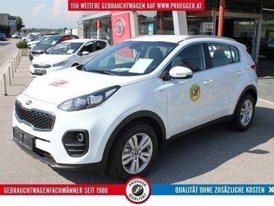 gebraucht Kia Sportage 1,6 GDI ISG Silber SUV / Geländewagen