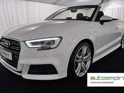 gebraucht Audi A3 Cabriolet Cabrio 1.5-TFSI 35 Sport S-Line-Plus LED/NAVI / Roadster