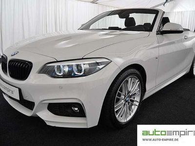 gebraucht BMW 220 2er-Reihe i Cabrio Aut. Cabrio / Roadster