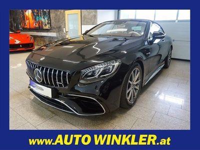 gebraucht Mercedes S63 AMG AMG 4MATIC+ Cabrio Aut. NP.:271546,-