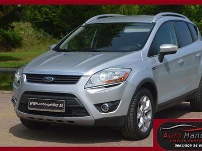 gebraucht Ford Kuga 2,0 Titanium 4x4 TDCI DPF Aut.+NAVI+XENON+... SUV / Geländewagen,