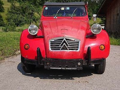 gebraucht Citroën 2CV 6 Special AZKA Cabrio / Roadster