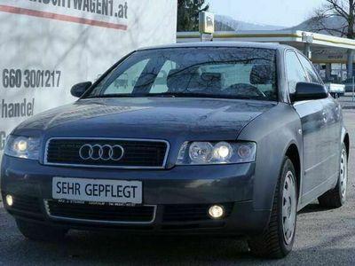 gebraucht Audi A4 2,4 V6 Erstbesitz, Pickerl neu, SR+WR, Sitz Hzg.