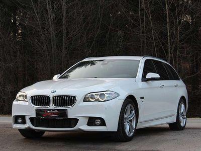 gebraucht BMW 520 5er-Reihe d xDrive Touring Österreich-Paket Aut.*M-PAKET* 1. Besitz*KREDIT/GARANTIE Kombi / Family Van