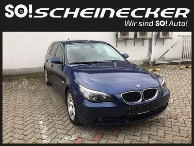 gebraucht BMW 525 5er Limousine d, 177 PS, 4 Türen, Schaltgetriebe