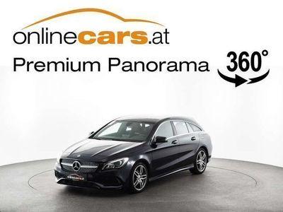 gebraucht Mercedes CLA180 Shooting Brake CLA-Klasse Aut. AMG LEDER LED RFK O... Kombi / Family Van,