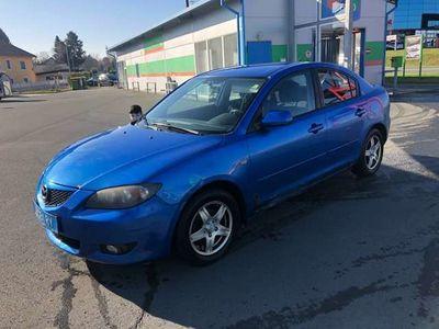 gebraucht Mazda 3 CD110 TX alu klima eiro 4