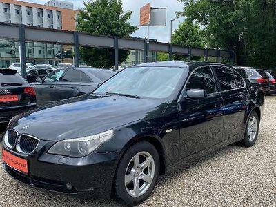 gebraucht BMW 520 5er-Reihe i E60 Navi Schiebedach Limousine