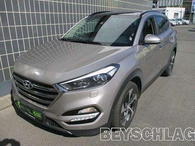 gebraucht Hyundai Tucson 1,6 T-GDI 4WD Platin DCT Platin