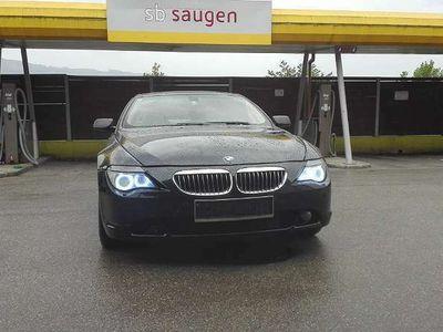 gebraucht BMW 645 6er-Reihe ci Sportwagen / Coupé