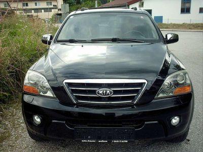 gebraucht Kia Sorento 2,5 CRDi Active Black & Ac. Brown Aut. SUV / Geländewagen