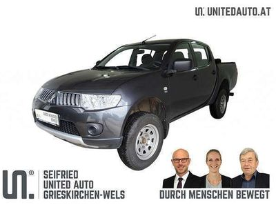 gebraucht Mitsubishi L200 4WD 2,5 DID Work Edition* 8-fach, AHK, Laderaumab
