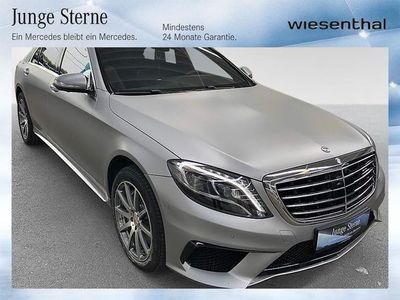 gebraucht Mercedes S63 AMG S-KlasseAMG 4MATIC lang Aut. Limousine,