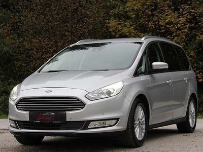 gebraucht Ford Galaxy Titanium 2,0 (CDR)*AHK*Navi*Parkassist*Keyless*TOP *KREDIT/GARANTIE/MWST Kombi / Family Van