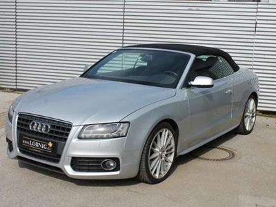 gebraucht Audi A5 Cabriolet 2.0 TFSI S-LINE LEDER NAVI LED