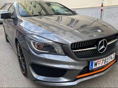 gebraucht Mercedes CLA180 Shooting Brake OrangeArt Edition