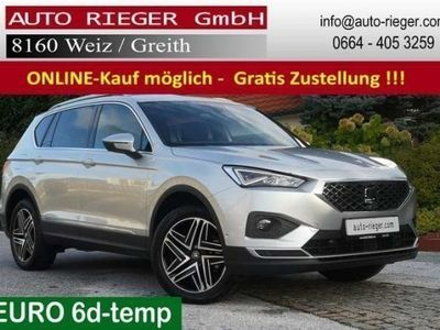 gebraucht Seat Tarraco Xcellence 4Drive LED AHK Standheizung ACC