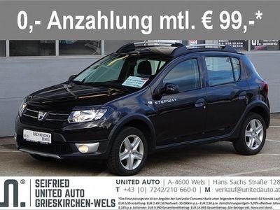 gebraucht Dacia Sandero Stepway TCe 90*Navi*Bluetooth*Tempomat*8-fach Ber