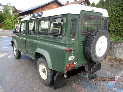 gebraucht Land Rover Defender 110 SW/TD5 - 9 Sitzer(!) - Motor getauscht SUV / Geländewagen