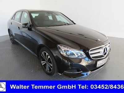 gebraucht Mercedes E250 CDI 4MATIC Limousine