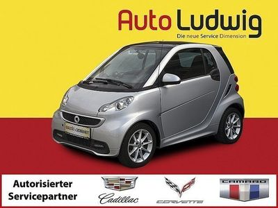gebraucht Smart ForTwo Coupé fortwopassion softouch Limousine,