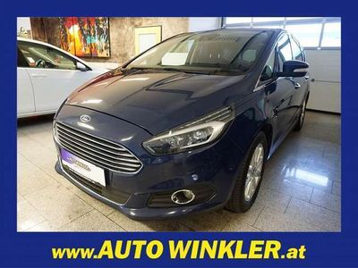 gebraucht Ford S-MAX Titanium 2.0TDCi Aut. AWD LED/Navi/Winter... Kombi / Family Van