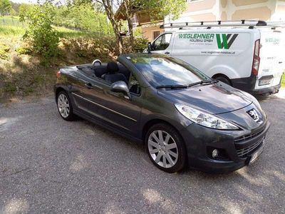 gebraucht Peugeot 207 CC ACT 1.6 VTI Cabrio / Roadster