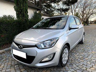 """gebraucht Hyundai i20 1,25 """"Comfort"""" 78.Tkm """"Neu Pickerl"""" 1.Besitz Klein-/ Kompaktwagen"""