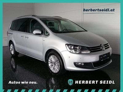"gebraucht VW Sharan ""CUP"" BMT 2,0 TDI DPF *NAVIGATION* Kombi / Family Van,"