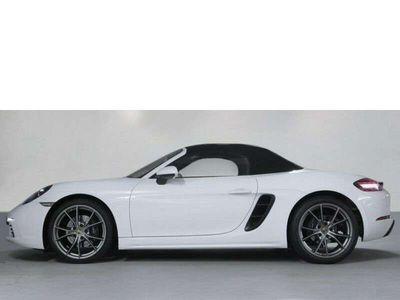 gebraucht Porsche 718 Boxster Connect Lederpaket PDLS Schalter Cabrio / Roadster