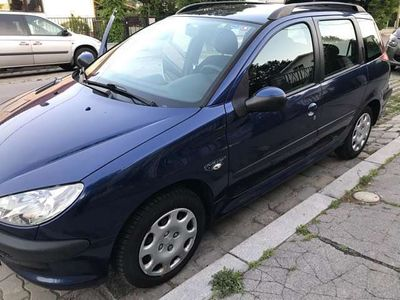 gebraucht Peugeot 206 SW Color Line HDI 70