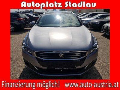 gebraucht Peugeot 508 SW 2,0 BlueHDI 150 S&S Professional Line PA... Kombi / Family Van,