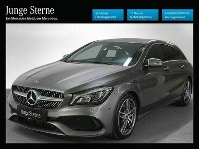 gebraucht Mercedes CLA220 Shooting Brake d 4MATIC Aut. *AMG-Line*