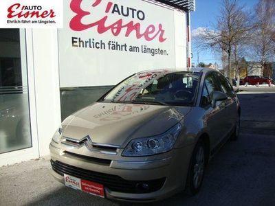 gebraucht Citroën C4 1,6 HDi 110 Exclusive FAP Limousine,